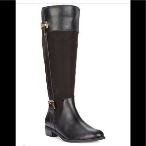 Women's Riding Boots Faux Leather NEW size 5